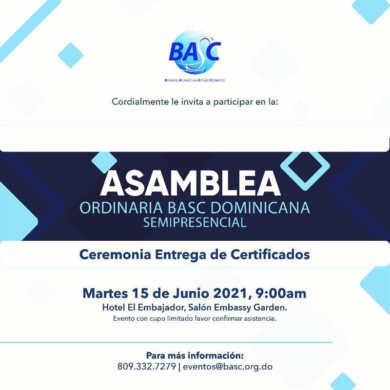 Asamblea BASC 2021